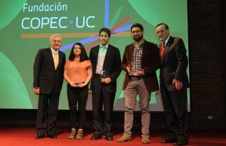 Ideas innovadoras y sustentables ganaron concurso Aplica tu idea 2017 de la Fundación Copec UC