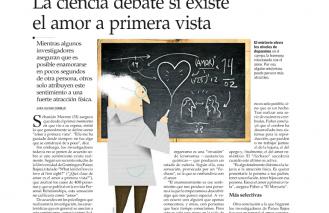 La ciencia debate si existe el amor a primera vista