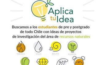 Aplica tu Idea busca a los estudiantes más innovadores de Chile en su V versión