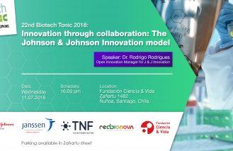 "Biotech Tonic 22nd: ""Innovation trough collaboration: The Johnson & Johnson Innovation model"""