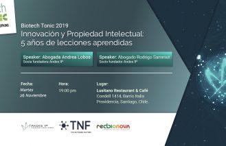 Biotech Tonic «Innovación y Propiedad Intelectual: 5 años de lecciones aprendidas»