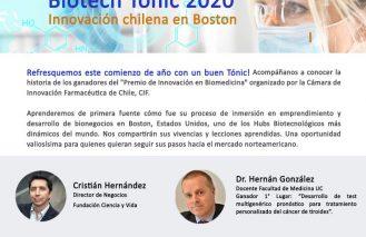 Biotech Tonic 2020: Innovación chilena en Boston