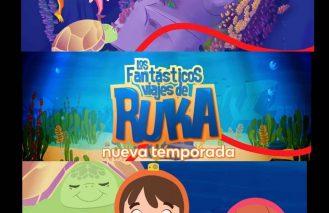 """La segunda temporada de """"Los Fantásticos Viajes de Ruka"""" se estrenó en TV abierta"""