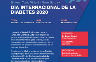 Biotech Tonic Novo Nordisk: Día Internacional de la Diabetes 2020