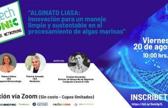 ALGINATO LIASA: Innovación para un manejo limpio y sustentable en el procesamiento de algas marinas